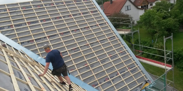 M & S Fassadenbau Fichtenau Dachsanierung